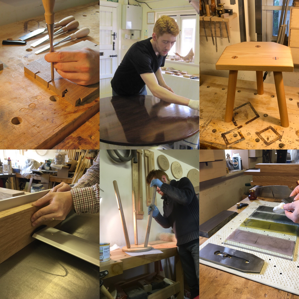 One day woodworking courses in Hampshire with furniture maker David Stephenson